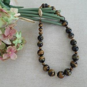Gemstone Tiger's Eye Necklace